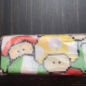 Mario mushroom shower curtain